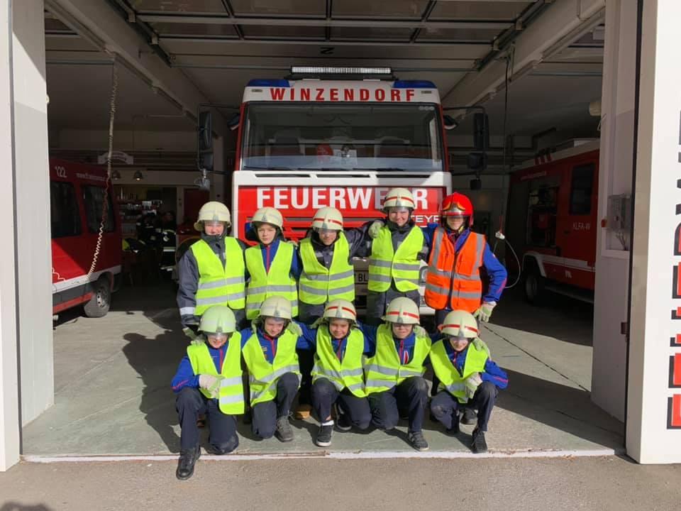 Schauübung der Feuerwehrjugend 16.02.2020