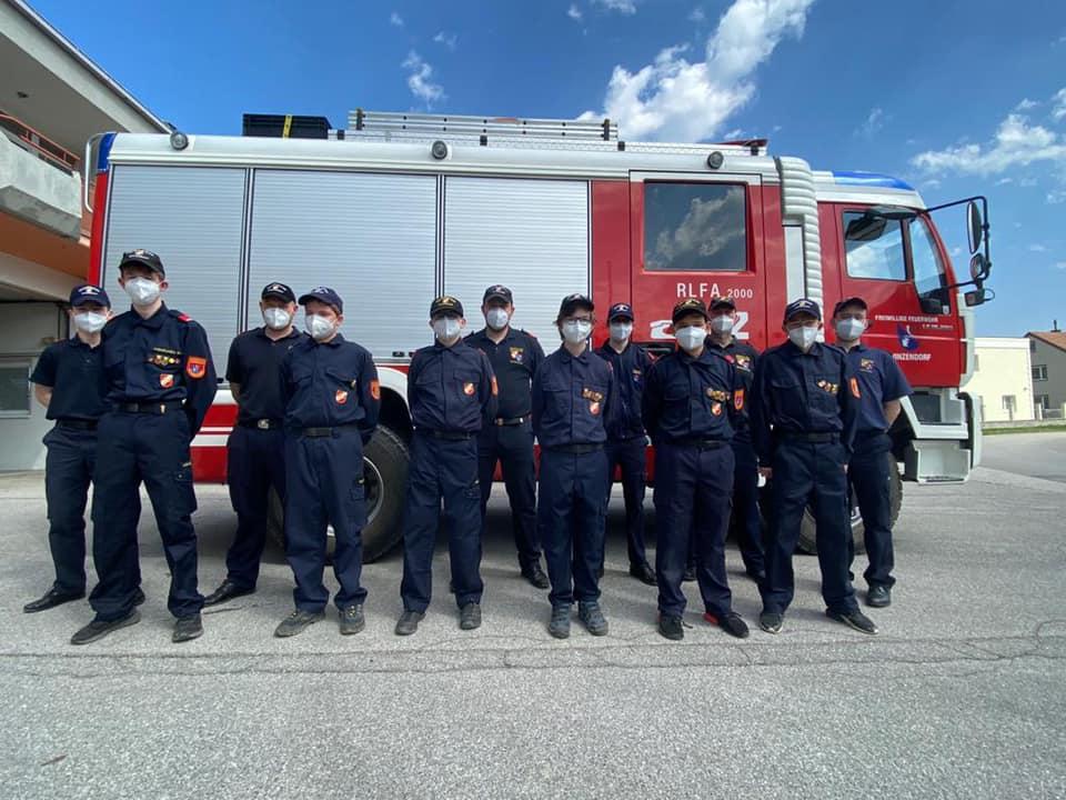 Wissenstest der Feuerwehrjugend am 25.04.2021